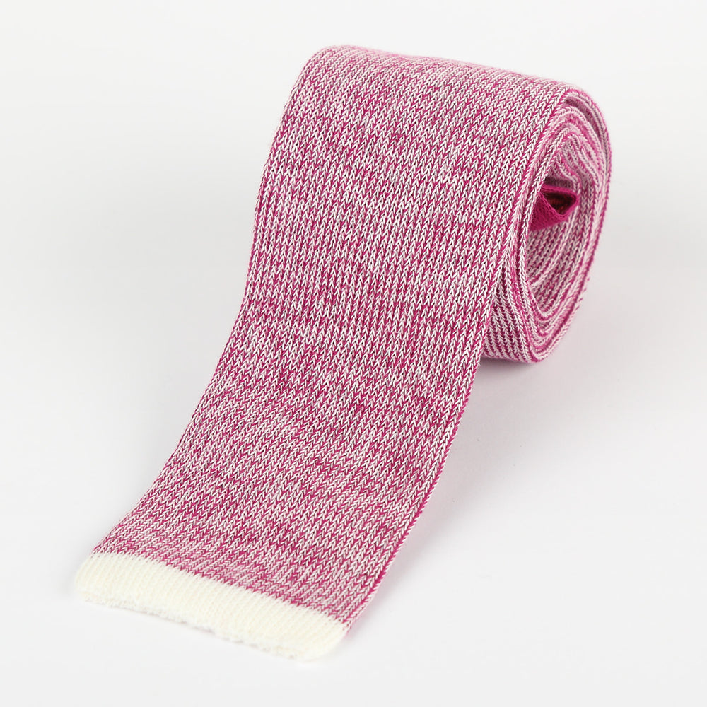 Magenta - Shaded effect Italian Knitted Tie