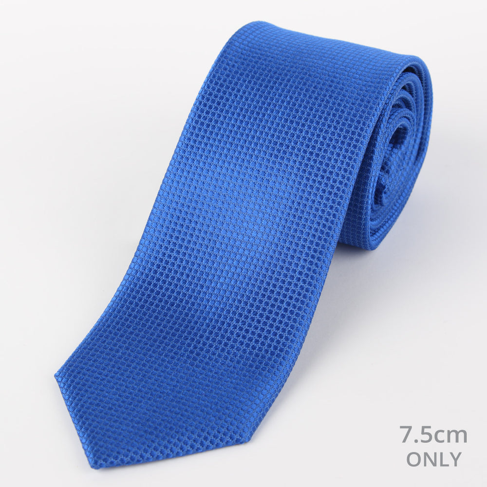 Royal - Square Weave Silk Tie