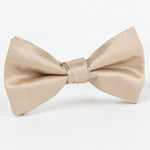 Nugget - Twill Weave Single Dimple Silk Bow Tie