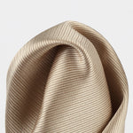 Bronze - Twill Weave Silk Pocket Square