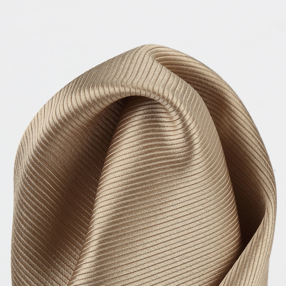 Nugget - Twill Weave Silk Pocket Square