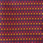 Burgundy - Spotted Silk Pocket Square