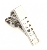 Silver Super Small - Tie Bar