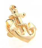 Gold - Anchor Lapel Pin