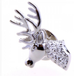 Silver - Deer Lapel Pin