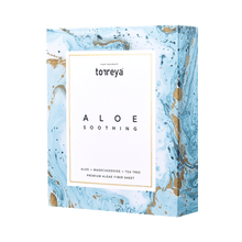 Load image into Gallery viewer, 蘆薈舒緩精華面膜 (一盒10片) ALOE SOOTHING MASK (10 EA)