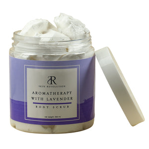 Aromatherapy with Lavender Body Scrub - Skin Revolution