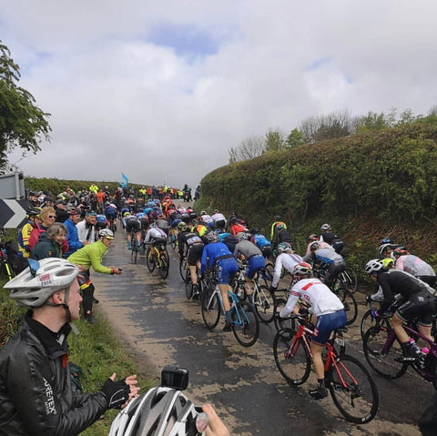 tour de yorkdhire France cyclists riding up hill - Nordvek blog