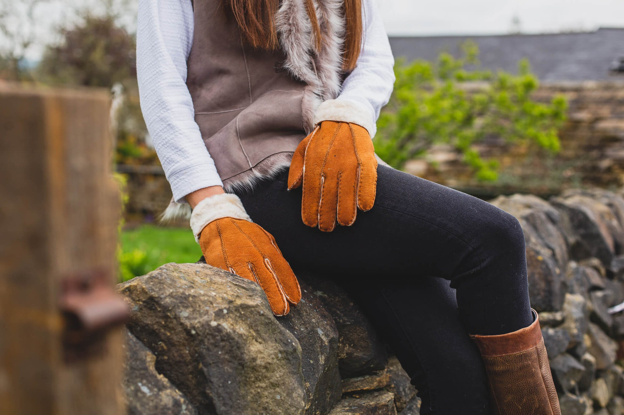 Women's Sheepskin Gloves 301-100
