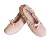 Womens Sheepskin Slippers - Ballerina Style