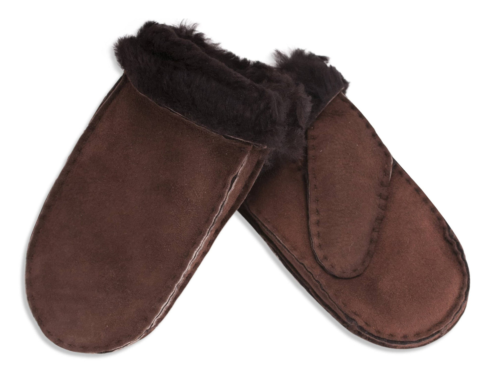 Nordvek childrens sheepskin mittens 314-100 stone pair
