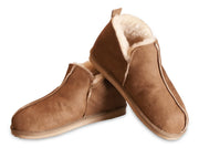 Shepherd womens sheepskin slippers ANNIE cognac  pair