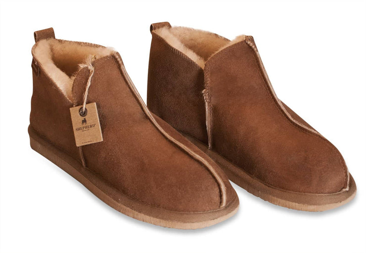 Mens Sheepskin Slippers - Classic Boot Style