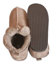 Shepherd womens sheepskin slippers ANNIE Stone  sole