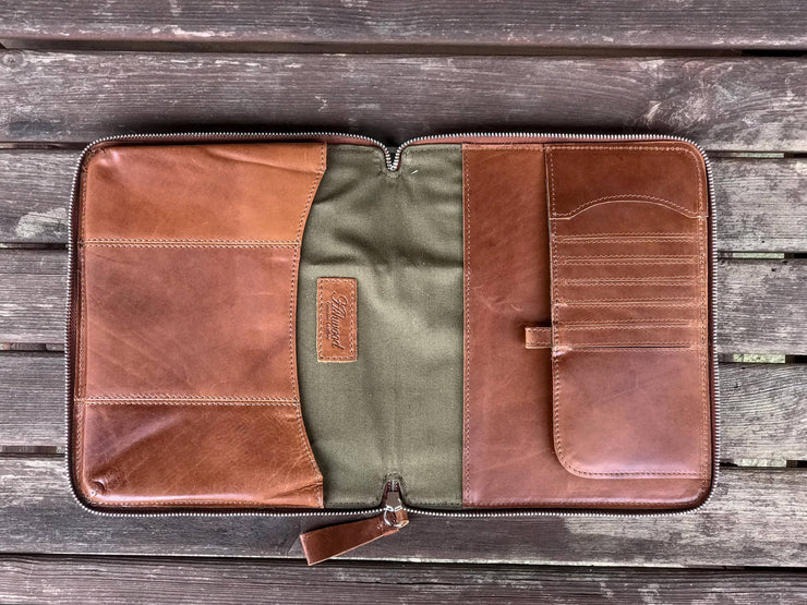 "Leather Tablet Sleeve - Suitable For 11"" Tablet"