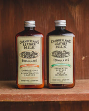 Pack Of Leather Conditioner & Cleaner - Liniment No.1 & 2