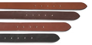 Hawkdale mens full grain leather belt  818 819 820 colour comparison