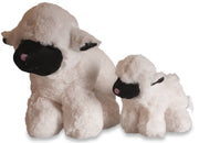 Nordvek lamb toy pair of large and small 103-100
