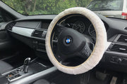 Nordvek steering wheel cover in car natural 108-100