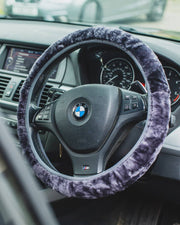 Nordvek steering wheel cover in car grey 108-100