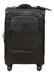 Nordvek trolley suitcase black front 101-100
