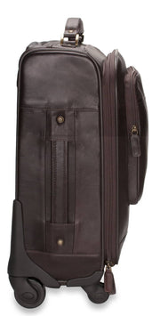 Nordvek trolley suitcase brown side 101-100