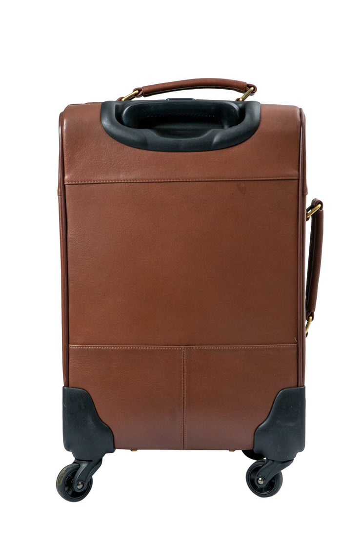 Nordvek trolley suitcase tan back 101-100