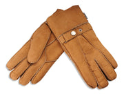 Ladies Nordvek sheepskin gloves 307-100 light brown overlap