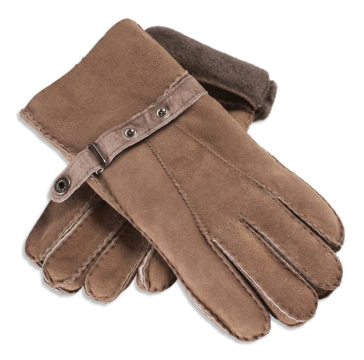 Ladies Nordvek sheepskin gloves 307-100 taupe overlap