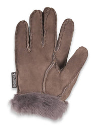 Nordvek childrens sheepskin gloves 313-100 Stone palm