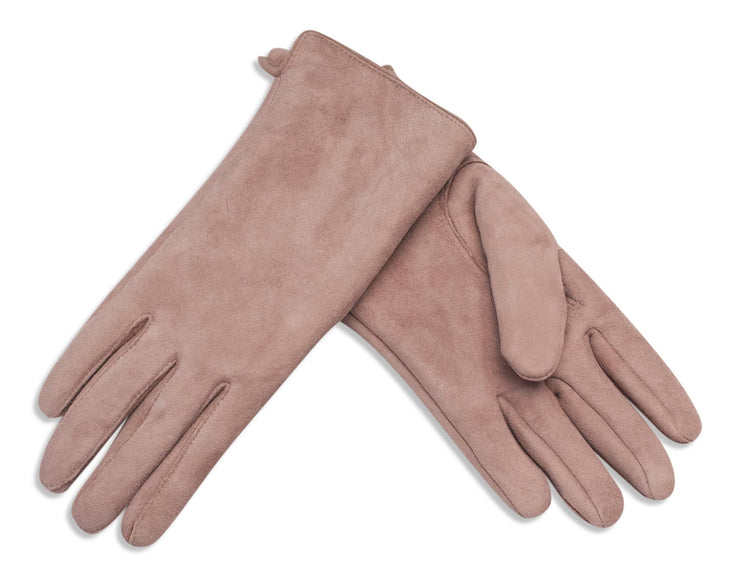Nordvek womens sheepkskin gloves 319-100 dusky pink pair