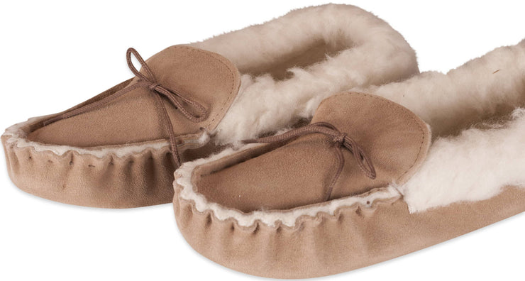 Nordvek womens moccasins soft sole  418-100 camel pair