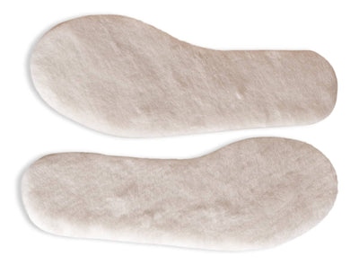 Nordvek adults lambswool insoles 499-100 side by side