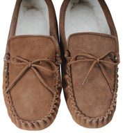Nordvek mens moccasins soft sole  423-100 chestnut pair