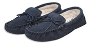 Nordvek mens moccasins soft sole  423-100 navy pair