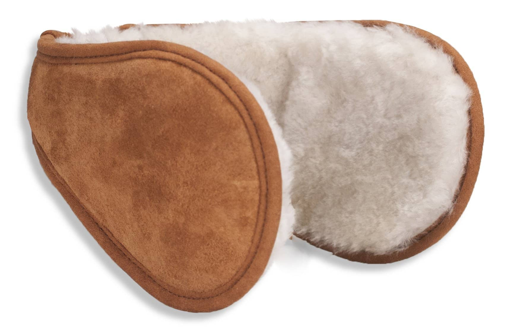 Nordvek sheepskin earmuffs 514-100 chestnut