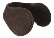 Nordvek sheepskin earmuffs 514-100 chocolate