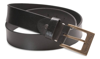 Hawkdale mens leather belt black 819-400