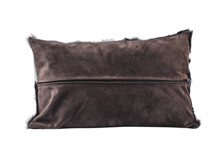Nordvek cowhide cushion 9008-100 brown back