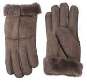 Nordvek womens sheepskin gloves stone pair  321-100