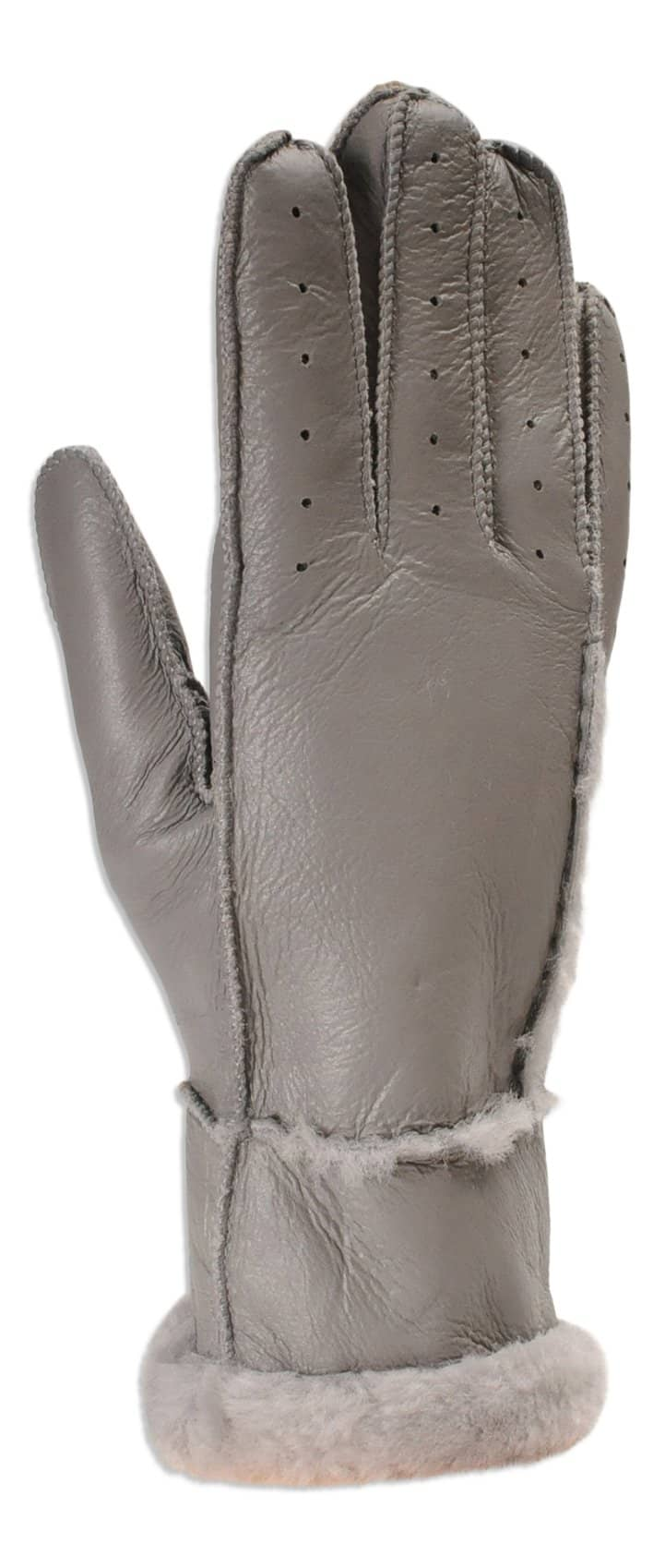 Nordvek womens sheepskin driving gloves 330-100 black pair