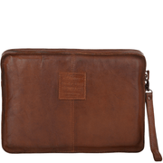 Ashwood Laptop Sleeve Front - Rust