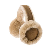 Nordvek womens sheepskin earmuffs 506-100 chestnut front
