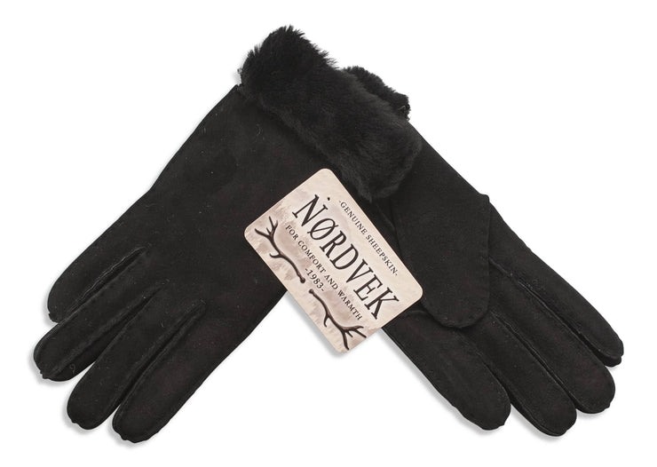Womens Sheepskin Glove - Full Back For Extra Warmth