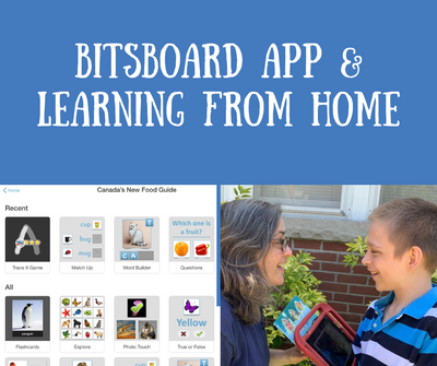 Bitsboard app - a terrific distance learning tool for both teachers and parents