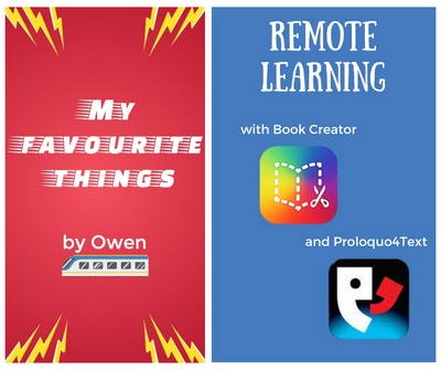Book Creator App For iPad and Proloquo4Text