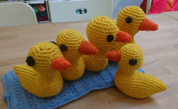 Crochet Duck Amigurumi Workshop Hamilton