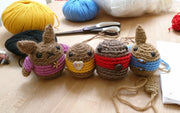 Crochet Amigurumi Bunny Workshop Hamilton