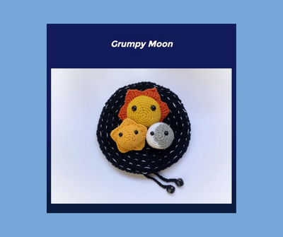 Grumpy Moon printable - coping with life changes and transitions: helping kids