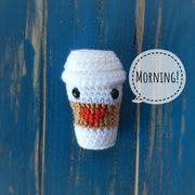 Amigurumi crochet coffee cup pattern